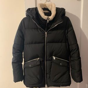 Girls Zara puffer coat